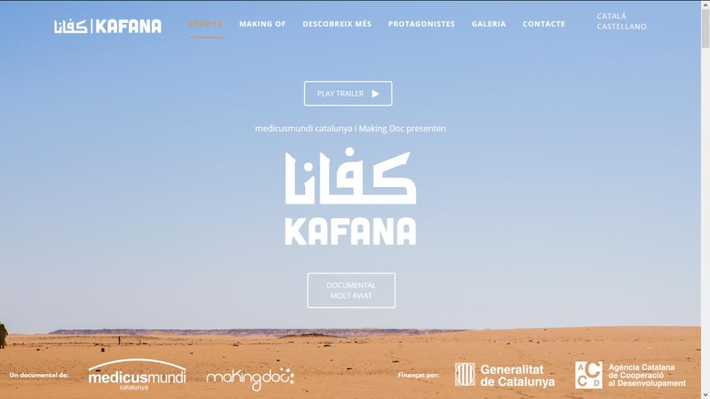Home web Kafana