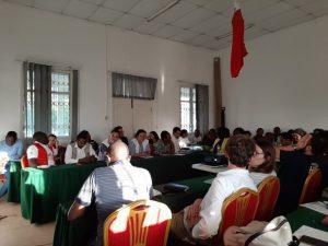 Reunión del cluster de salud