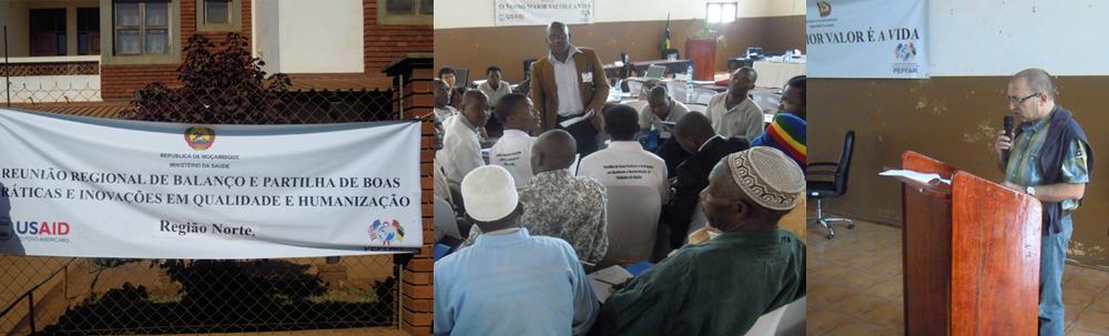 Reunió sobre humanització i calidesa dels serveis, Niassa, Moçambic